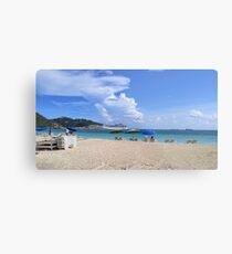 Ashore in Phillipsburg Metal Print