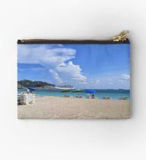 Ashore in Phillipsburg Studio Pouch
