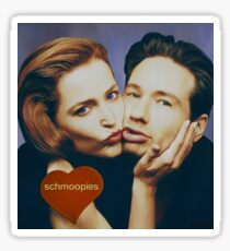 The Schmoopies - Gillian and David painting Sticker