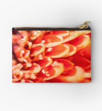 A macro image of The Flower. Studio Pouch