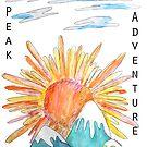 Hiking Pikes Peak Adventure by pinxnpurples