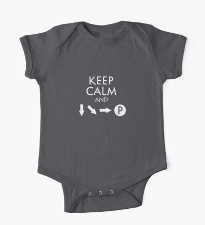 Keep Calm and Fireball Kids Clothes