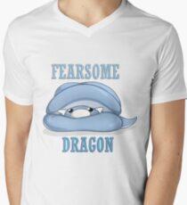 Dratini Design T-Shirt mit V-Ausschnitt