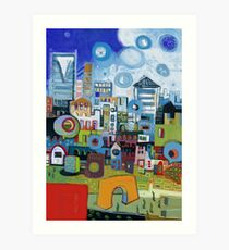 Home In The City Art Print