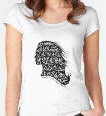 Speak Your Anger Fitted Scoop T-Shirt