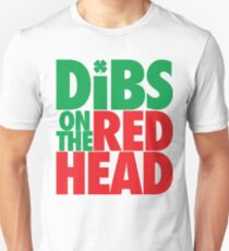 Dibs on the Redhead (BIG Green/Red) T-Shirt