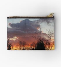 Showers Subsiding at Sundown Studio Pouch
