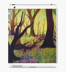 Bluebell Woods Ink Sketch iPad Case/Skin