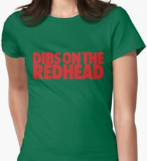 Dibs on the Redhead (Stack Red/Red) T-Shirt