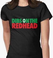 Dibs on the Redhead (Stack Green/Red) T-Shirt