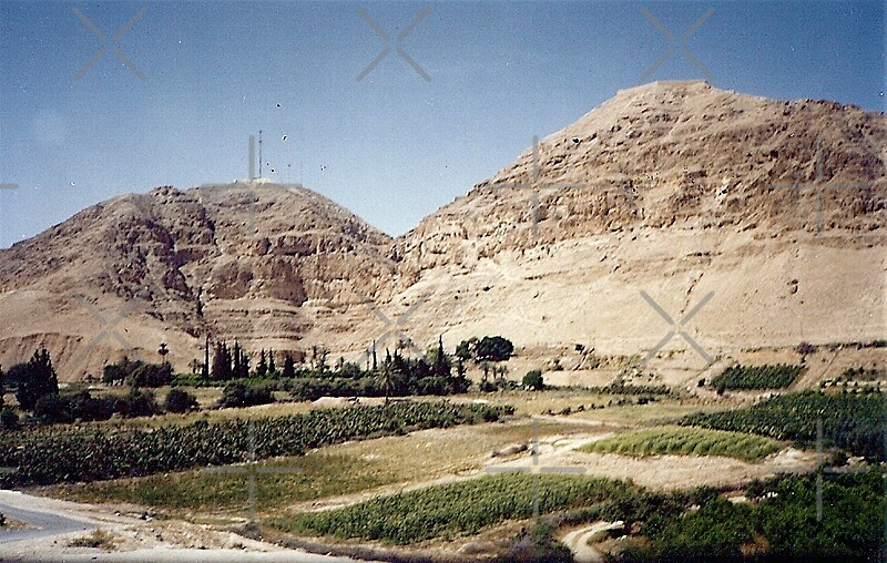 Quot Israel Temptation Mountain Jericho Quot By Shulie1 Redbubble