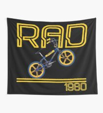 Retro 80's BMX Bike  Wall Tapestry