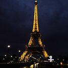 Eiffel Tower - Paris, France by Peter Ede