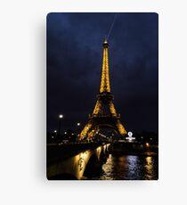 Eiffel Tower - Paris, France Canvas Print
