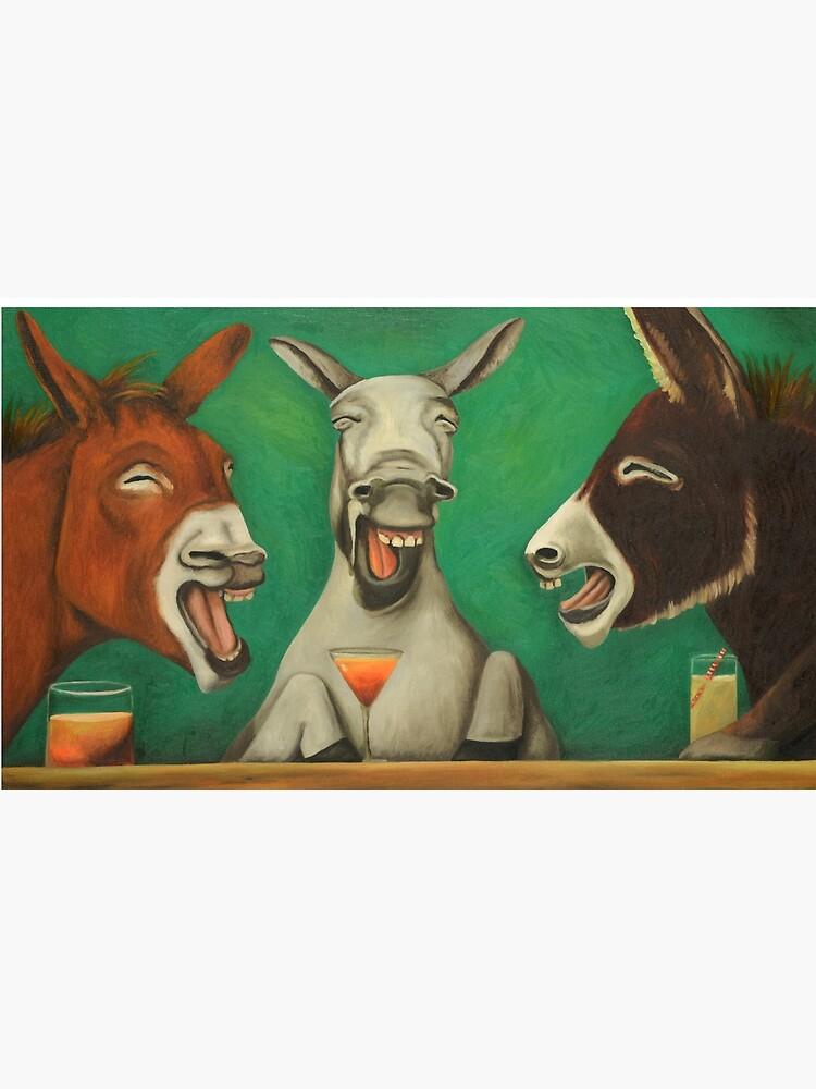 Lachende Esel von LeahSaulnier