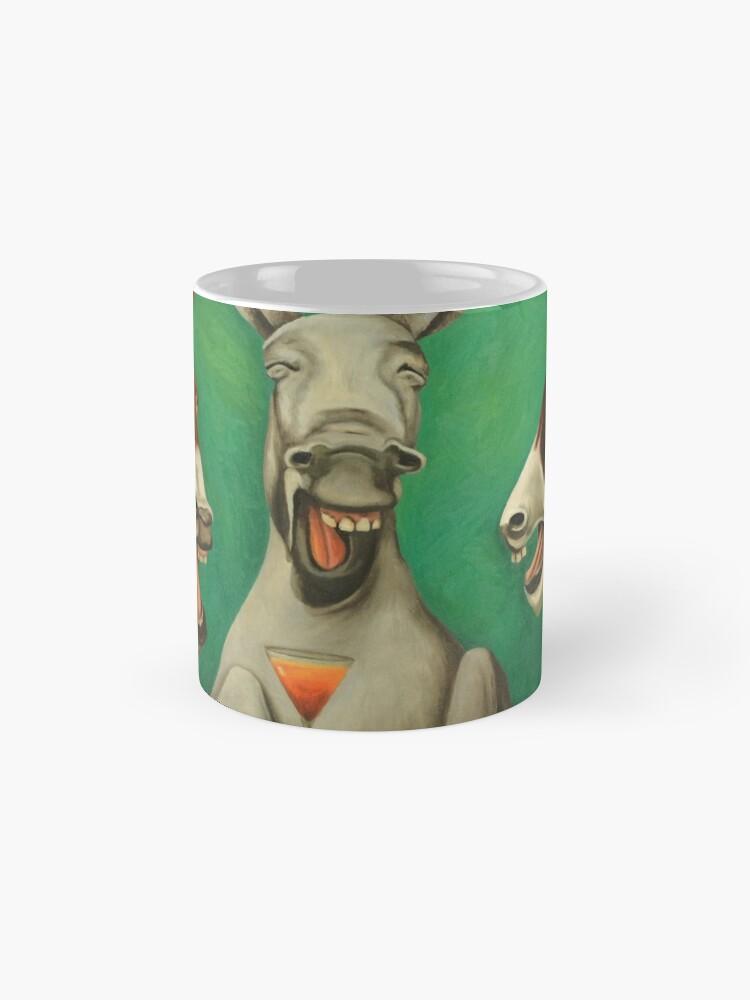Alternative Ansicht von Lachende Esel Tassen
