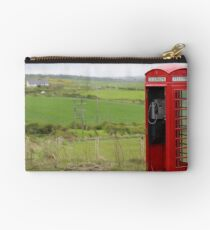 Iconic British phone booth in Northern Ireland Studio Pouch