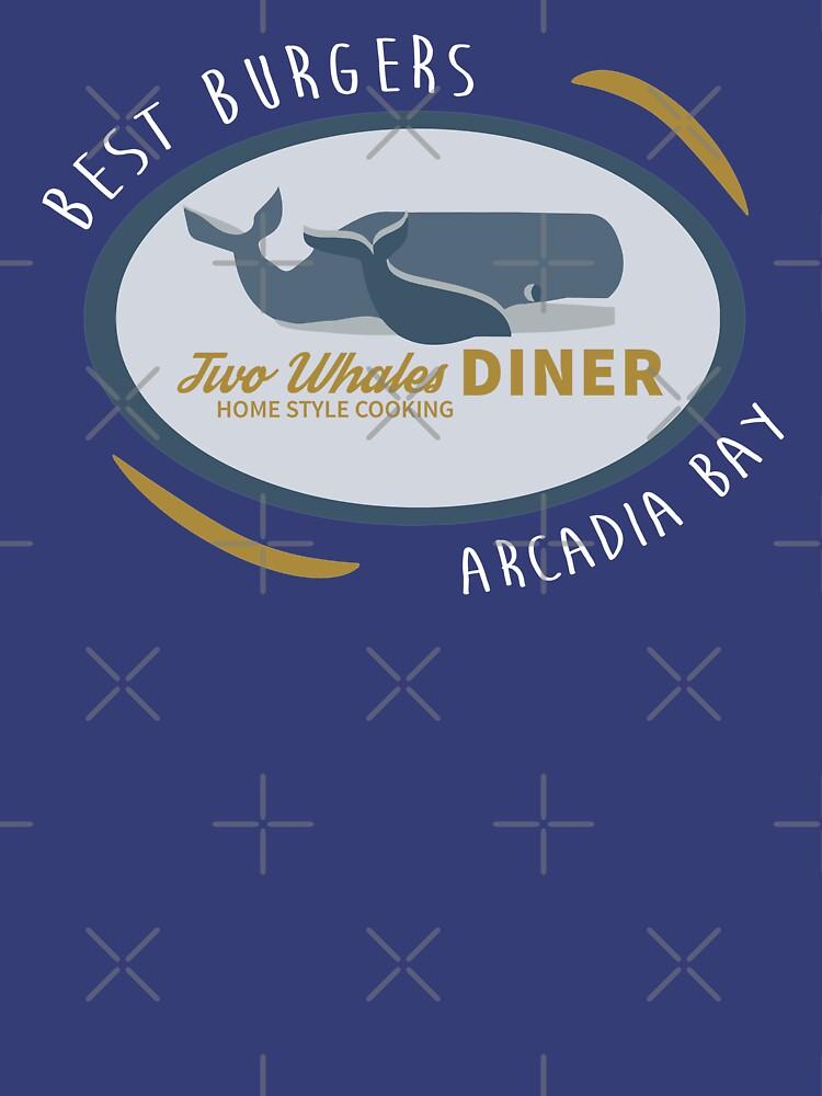 Zwei Wale Diner Shirt von fandemonium
