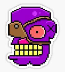 One eye Pirate Joe Sticker