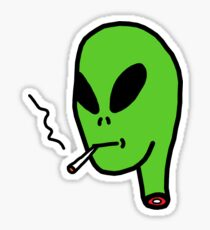 Alien Lmao Sticker