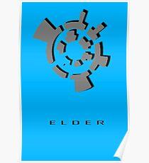 Chozo Artifact of Elder - 3D Minimalist Poster