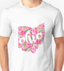 Ohio State Lilly Pattern T-Shirt