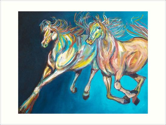 Wild Horses by Sandra England