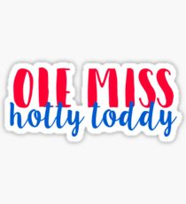Ole Miss Hotty Toddy Sticker