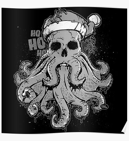 Merry Cthulmas - A Very Special Cthulhu Christmas Poster