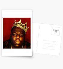 notorious big Postcards