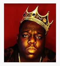 notorious big Photographic Print