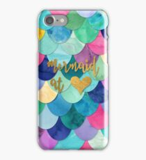 Mermaid at Heart iPhone Case/Skin