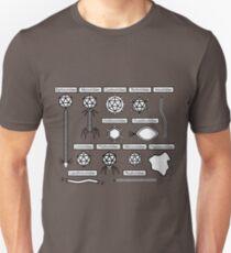 Bacteriophage families Unisex T-Shirt