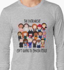 Patriarchy, SMASH Long Sleeve T-Shirt
