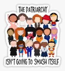 Patriarchy, SMASH Sticker