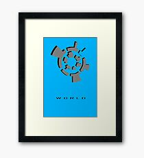 Chozo Artifact of World - 3D Minimalist Framed Print