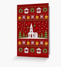 Gilmore Weihnachten Grußkarte