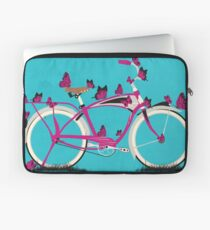 Butterfly Bicycle Laptop Sleeve