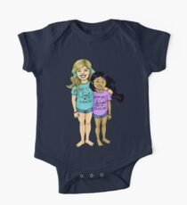 Gracie & Alba - BFFs One Piece - Short Sleeve