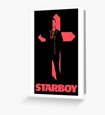 Starboy Cross Greeting Card