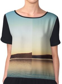 Duality II Women's Chiffon Top
