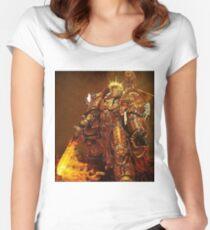 God Emperor Trump Women's Fitted Scoop T-Shirt