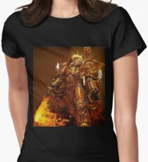 God Emperor Trump Womens Fitted T-Shirt