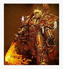 God Emperor Trump Photographic Print