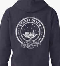 stars hollow Pullover Hoodie