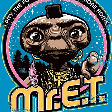 Mr. E.T. - 80s Retro Vintage Mash-Up by RibMan