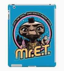 Mr. E.T. - 80s Retro Vintage Mash-Up iPad Case/Skin