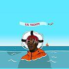 Lil Yachty in ocean Lil Boat by Kade Kanaan