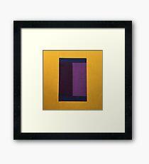 Sun Corn Fabric Art Framed Print