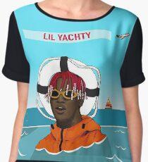 Lil Yachty in ocean Lil Boat Chiffon Top